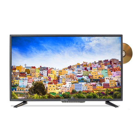Sceptre 32   Class Fhd  1080P  Led Tv  E325bd Fsr  With Built In Dvd