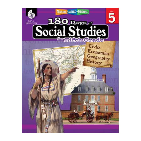 180 Days of Social Studies for Fifth Grade (Grade 5) : Practice, Assess, Diagnose