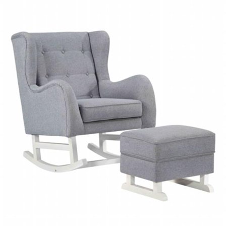Fine Mod Imports FMI10263-GRAY Baby Lounge Chair, Gray - 43 x 33.5 x 31.5