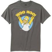 Simpsons Homer Woo Hoo! Men's Graphic Tee
