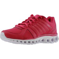 e7d5a1e683d1 K-Swiss Women s X-160 Cmf Low Bright Rose   White Ankle-High Running Shoe -  9M