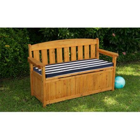 Kidkraft Outdoor Storage Bench With Cushion Walmart Com
