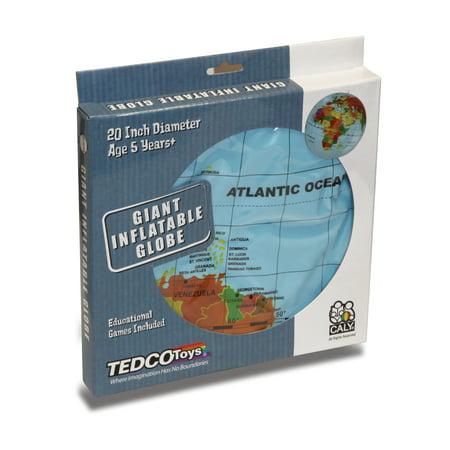 20-inch Giant Inflatable Globe - Inflatable World Globe