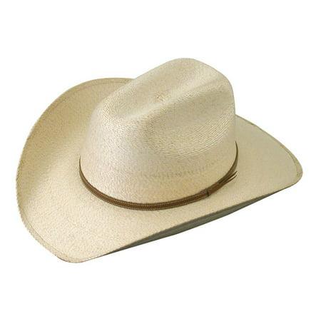 Child Straw Cowboy Hat (Atwood Hat Company Boys Kid s 4X Palm Leaf Straw Cowboy)