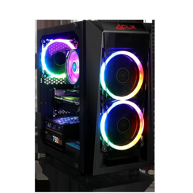 CLX SET SCRIBE GAMING AMD Ryzen 7 2700X, NVIDIA GeForce RTX 2080 8GB GDDR6, 16GB DDR4 Memory, 480GB SSD + 1TB HDD Storage MS Windows 10 Home