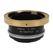 Vizelex ND Throttle Lens Mount Adapter - Arri PL (Positive Lock) Mount Lens to Canon RF Mount Mirrorless Camera Body with Built-In Variable ND Filter (1 to 8 Stops)
