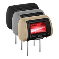 """Boss Audio HIR70BGTA 7"""" Headrest Monitor with IR Transmitter and 3 Interchangeable Covers (with DVD Player)"""