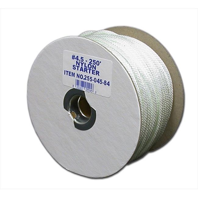 T.W Evans Cordage 85-081 3//4-Inch by 120-Feet Twisted Nylon Rope T.W Evans Cordage Co.