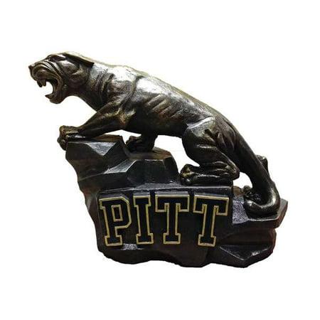 University of Pittsburgh Panthers Pitt Panther Painted Stone - Panther Mascot