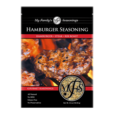 My Family's Hamburger Seasoning, 3.6 oz