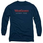 Wargames No Winners Mens Long Sleeve Shirt