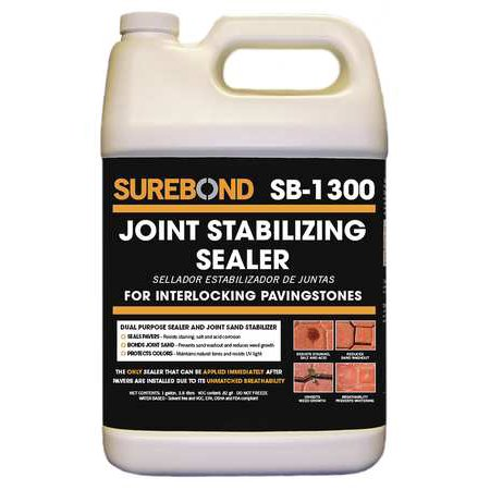 SUREBOND SB-1300 G Sealer, 1 gal, Clear, Epoxy, Matte to
