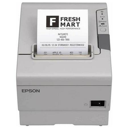 Epson - C31CA85014 - Epson TM-T88V Direct Thermal Printer - Monochrome - Desktop - Receipt Print - 2.83 Print Width -