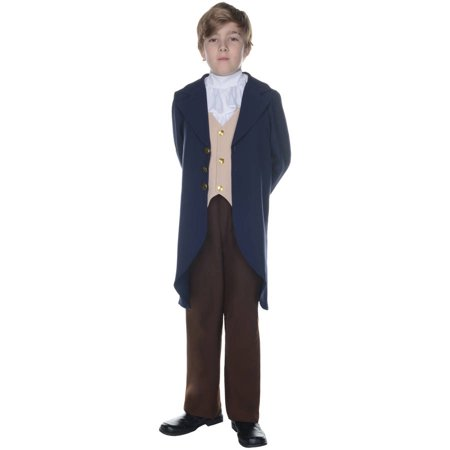 Thomas Jefferson Boys Child Halloween Costume (Port Jefferson Halloween)