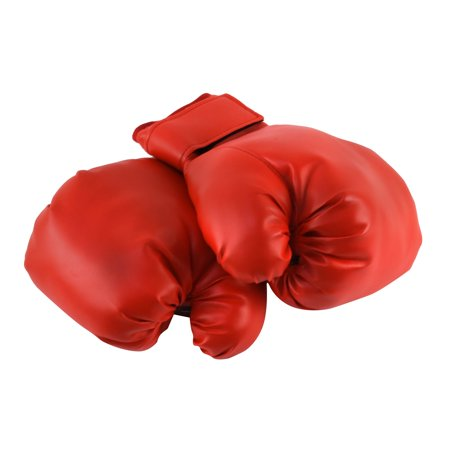 Faux Leather Practice Train Boxing Spar Gloves Movie Stage Costume Prop Accessory - Bowling Halloween
