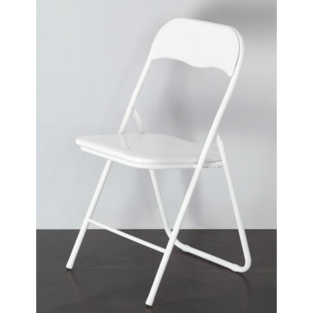 Mainstays Padded Folding Chair, Multiple Colors](Diy Folding Chair)