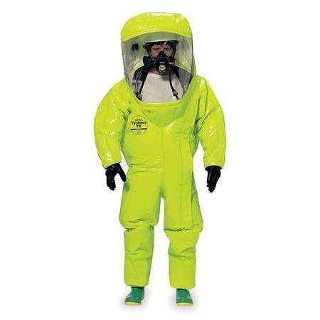 DUPONT TK555TLYXL000100 Encapsulated Suit,Tychem TK,XL