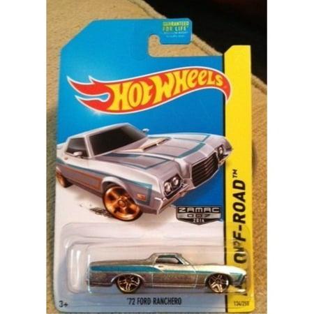hot wheels zamac 2014 hw off road '72 ford ranchero rare new in package