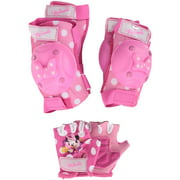 Bell Disney Minnie Mouse Protective Pad and Glove Set