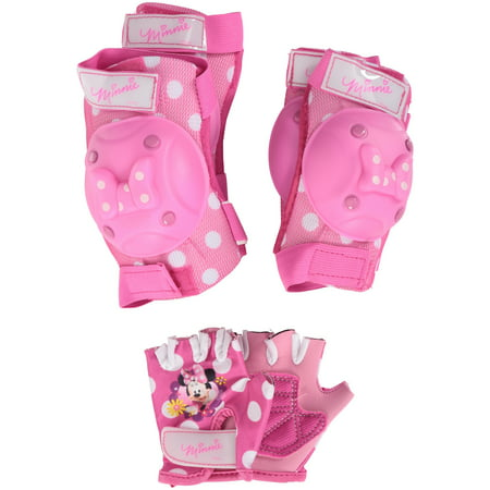 Disney Minnie Mouse Bow Protective Pad and Glove