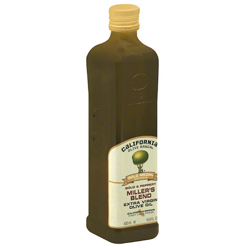 California Olive Ranch Miller's Blend Extra Virgin Olive Oil, 16.9 fl oz, (Pack of 6) by Generic
