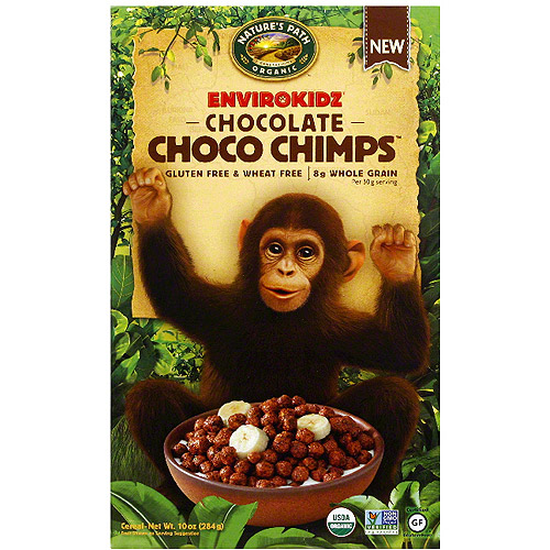 Nature's Path Organic Envirokidz Chocolate Choco Chimps, 10 oz (Pack of 12)
