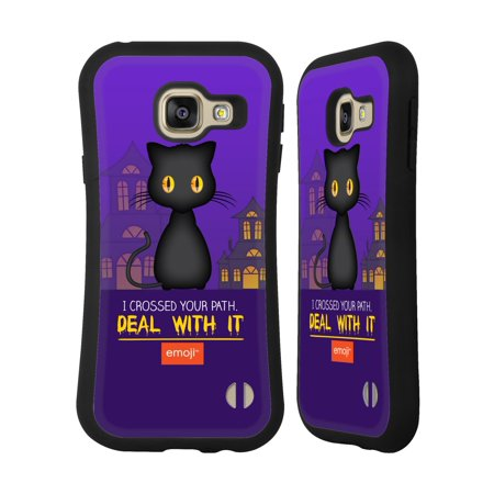 OFFICIAL EMOJI HALLOWEEN PARODIES HYBRID CASE FOR SAMSUNG PHONES - Hibrido Halloween