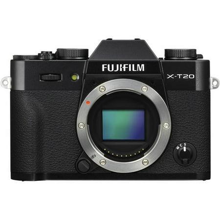 Fujifilm X-T20 Mirrorless Digital Camera - Body Only (Black)