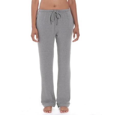 Noble Mount Women's Cozy Rib Knit Lounge and Sleep Pants