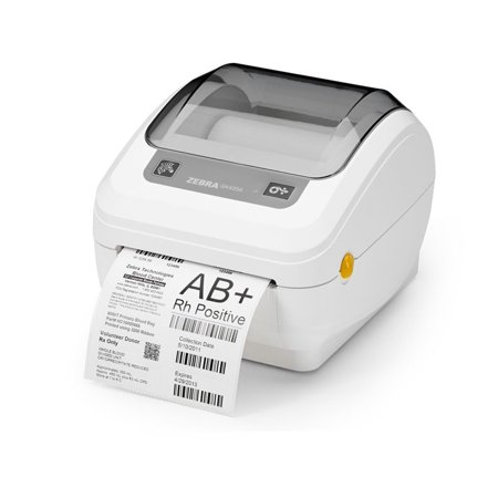 Zebra GK420d Direct Thermal Transfer Printer USB Ethernet White (Fax 575 Thermal Transfer)