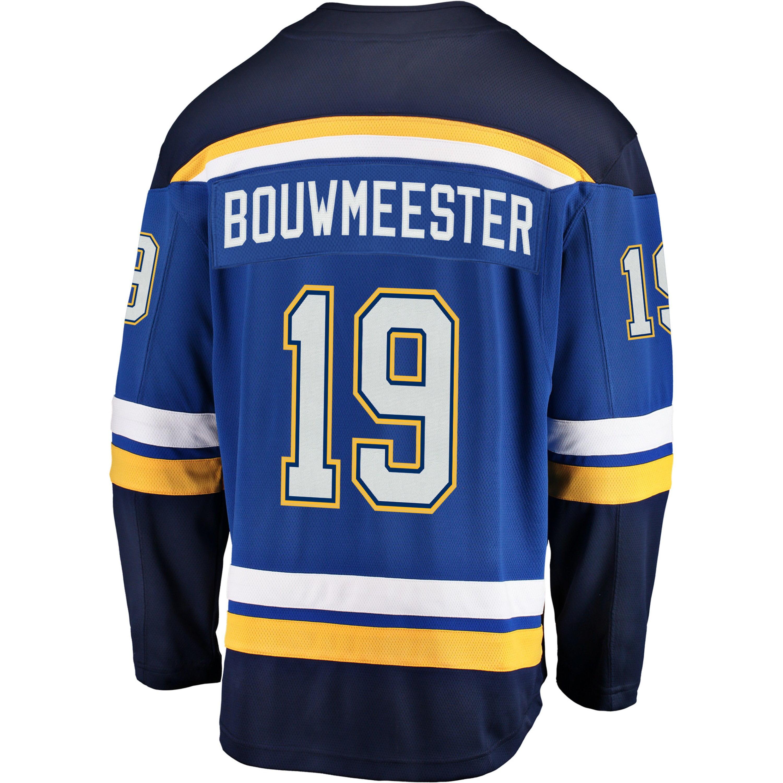 cheaper 6b1f8 58512 Jay Bouwmeester St. Louis Blues NHL Fanatics Breakaway Home Jersey
