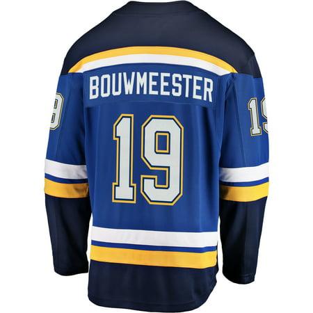 big sale ba085 1f226 Jay Bouwmeester St. Louis Blues NHL Fanatics Breakaway Home ...