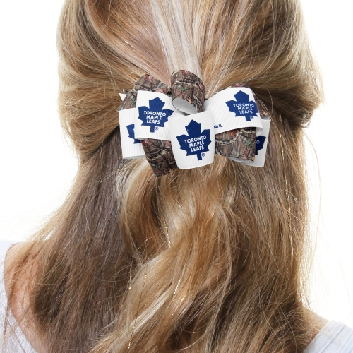 Toronto Maple Leafs Women's Mary Loop with Mossy Oak Hair Bow - No Size