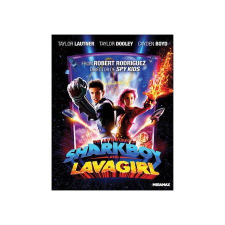 Shark Movies List (The Adventures of Shark Boy and Lava Girl)