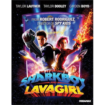 The Adventures of Shark Boy and Lava Girl (Blu-ray) - Pink Girl Movie
