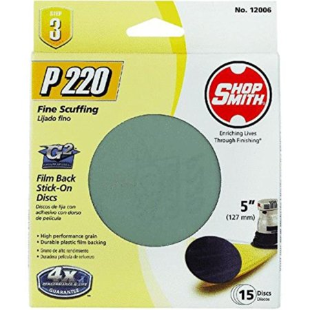 Shopsmith Sandpaper 5