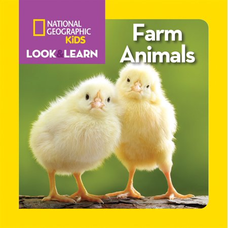 National Geographic Kids Look and Learn: Farm Animals