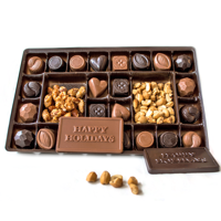 Chocolate Sampler Holiday Box