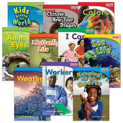 TIME FOR KIDS(R) Nonfiction Readers Grade 1 Set 2 (10-Book Set)