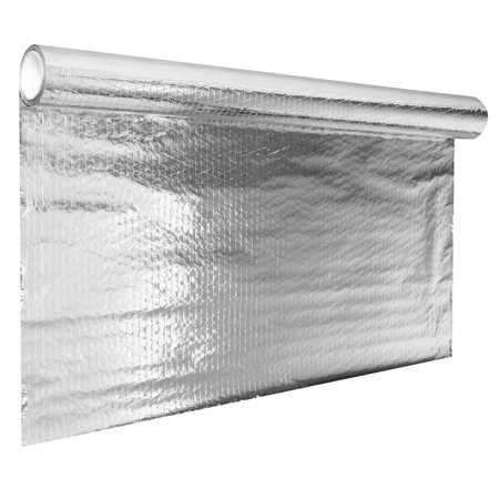 Elfeland 646 sqft Barrier Solar Attic Foil Reflective Insulation Diamond Radiant