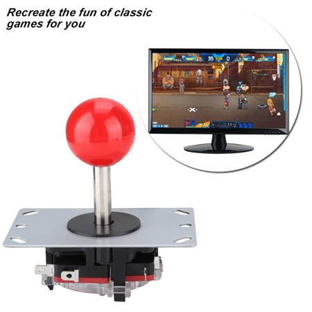 Yosoo Rocker Arcade Controller Childhood Classic Arcade Game Controller  With Rocker Ball, Game Controller For Arcade, Arcade Game Controller