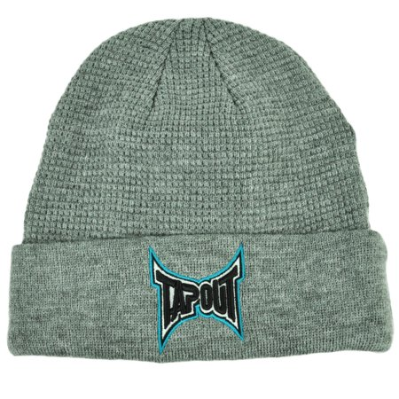 Ufo Cap - Tapout Gray Cuffed Knit Beanie Toque Hat Mixed Martial Arts MMA UFC Cage Fight