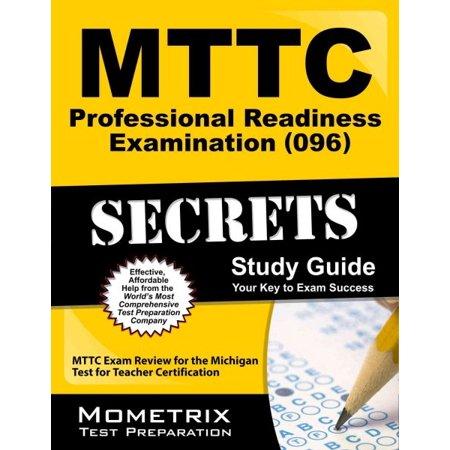 Mttc Professional Readiness Examination 096 Secrets