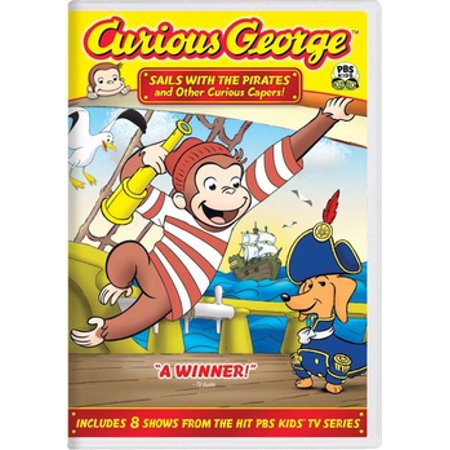 Curious George: Sails With the Pirates (DVD)](Curious George Man)