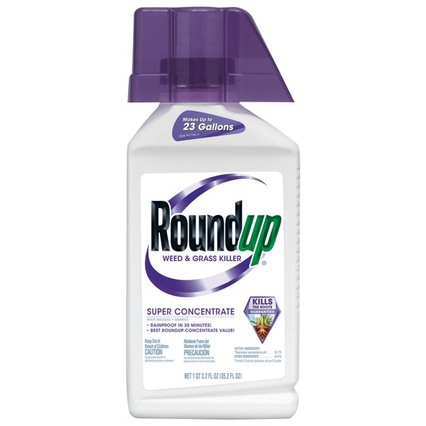 Roundup Weed Grass Killer Super Concentrate 35 2 Oz Walmart Com Walmart Com