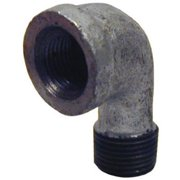 Pannext Fittings G-S9020 2 in. Galvanized Street Elbow, 90 Degree