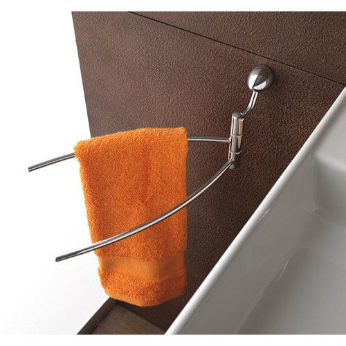 Toscanaluce by Nameeks Wall Mounted Swing Arm Towel Rail