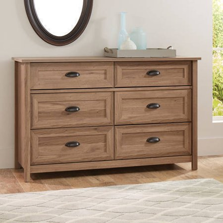 Better Homes And Gardens Lafayette Dresser Washed Oak Finish