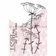 """Woodware Clear Stamps 3.5""""X5.5""""-Large Fennel"""