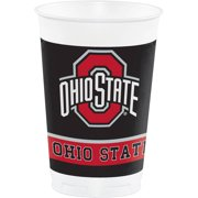 Ohio State University Plastic Cups, 8pk by CREATIVE CONVERTING